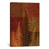 iCanvas 'Ferns II' by Erin Clark Painting Print on Canvas