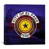 iCanvas El Paso Flag, Guadalupe National Park Graphic Art on Canvas