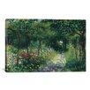 iCanvas 'Femmes Dans Un Jardin 1873' by Pierre-Auguste Renoir Painting Print on Canvas