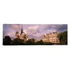 iCanvas Panoramic 'France, Paris, Notre Dame' Photographic Print on Canvas