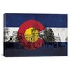 iCanvas Colorado Flag, State Capitol Graphic Art on Canvas