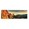 iCanvas Panoramic Colorado Springs Skyline Cityscape Photographic Print on Canvas
