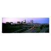 iCanvas Panoramic Highway Interchange and Skyline at Sunset Kansas City, Missouri Photographic Print on Canvas
