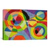 iCanvas Color Explosion by Robert Delaunay Painting Print on Canvas