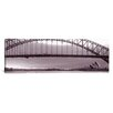 iCanvas Panoramic Harbor Bridge, Pacific Ocean, Sydney, Australia Photographic Print on Canvas