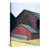 iCanvas 'Ends of Barns' by Georgia O'Keeffe Painting Print on Canvas