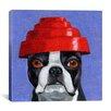 iCanvas 'Hat 13 Devo' by Brian Rubenacker Graphic Art on Canvas