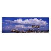 iCanvas Panoramic Rod and Reel Pier, Tampa Bay, Florida Photographic Print on Canvas