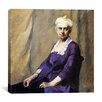 "iCanvas ""Elizabeth Griffiths Smith Hopper, the Artists Mother"" Canvas Wall Art by Edward Hopper"