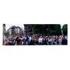 iCanvas Panoramic Festival of San Fermin, Running of the Bulls, Pamplona, Navarre, Spain Photographic Print on Canvas