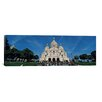 iCanvas Panoramic 'Basilique Du Sacre Coeur, Paris, France' Photographic Print on Canvas