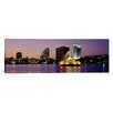 iCanvas Panoramic Lake Eola in Summerlin Park, Orlando, Florida Photographic Print on Canvas