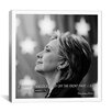 iCanvas Hillary Clinton Quote Canvas Wall Art