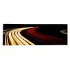 iCanvas Panoramic Hollywood Freeway at Night California Photographic Print on Canvas