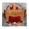 iCanvas Canada Hockey Mask #7 Graphic Art on Canvas