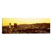 iCanvas Panoramic Hollywood Hills, California Photographic Print on Canvas