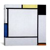 "iCanvas ""Composition ll, 1922"" by Piet Mondrian Painting Print on Canvas"