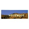 iCanvas Panoramic Hollywood Sign Los Angeles, California Photographic Print on Canvas