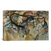 iCanvas Composition V by Wassily Kandinsky Painting Print on Canvas