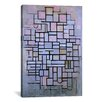 iCanvas 'Composition 6, 1914' by Piet Mondrian Painting Print on Canvas