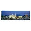 iCanvas Panoramic Dusk The Strip Las Vegas, Nevada Photographic Print on Canvas