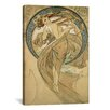 iCanvas 'Dance' by Alphonse Mucha Painting Print on Canvas