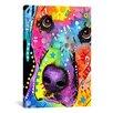 iCanvas 'Closeup Labrador' by Dean Russo Graphic Art on Canvas