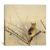 iCanvas Early Plum Blossoms Canvas Wall Art by Nishimura Goun