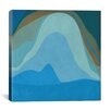 iCanvas Modern Blue Planet Graphic Art on Wrapped Canvas