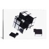 iCanvas Mirror Cube Disassembled by Thomas Photographic Print on Canvas