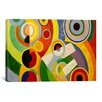 "iCanvas ""Joy of Life"" Canvas Wall Art by Robert Delaunay"
