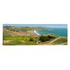 iCanvas Panoramic Marin Headlands and Rodeo Cove San Francisco, California Photographic Print on Canvas