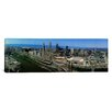 iCanvas Panoramic Cleveland Ohio Aerial Photographic Print on Canvas