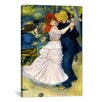 iCanvas 'Dance at Bougival' by Pierre-Auguste Renoir Painting Print on Canvas