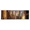 iCanvas Panoramic Cityscape Chicago, Illinois Photographic Print on Canvas