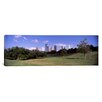 iCanvas Panoramic Downtown Skylines Viewed from a Park Houston, Texas Photographic Print on Canvas