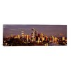 iCanvas Panoramic 'City Viewed from Queen Anne Hill, Space Needle, Seattle, King County, Washington State' Photographic Print on Canvas