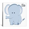 iCanvas Kids Art E is for Elephant Graphic Canvas Wall Art