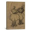 iCanvas 'Deux Danseuses' by Edgar Degas Painting Print on Canvas