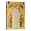 iCanvas 'Diesen Kuss Der Ganzen Welt 1902' by Gustav Klimt Painting Print on Canvas