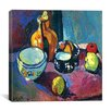 """iCanvas """"Dishes and Fruit (1901)"""" Canvas Wall Art by Henri Matisse"""