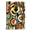 iCanvas 'Discs' by Fernand Leger Graphic Art on Canvas