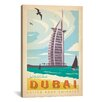 iCanvas 'Dubai, United Arab Emirates' by Anderson Design Group Vintage Advertisement on Canvas