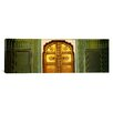 iCanvas Close-up of a Closed Door of a Palace, Jaipur City Palace, Jaipur, Rajasthan, India Canvas Wall Art