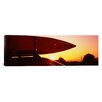 iCanvas Close-up of a Kayak on a Car Roof at Sunset, San Francisco, California Photographic Print on Canvas