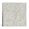 iCanvas Modern Brushstrokes Cut into 49 Squares Graphic Art on Canvas