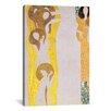 iCanvas 'Die Künste' by Gustav Klimt Painting Print on Canvas