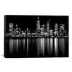 iCanvas Downtown City Photographic Print on Wrapped Canvas