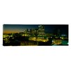 iCanvas Panoramic City Lit up at Night Newark, New Jersey Photographic Print on Canvas