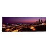 iCanvas Panoramic 'City Lit up at Night, Seattle, King County, Washington State' Photographic Print on Canvas